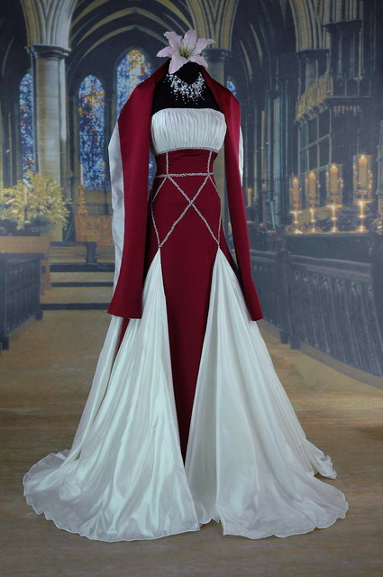 Google Image Result For Gothicweddingdresseswebs H0373A