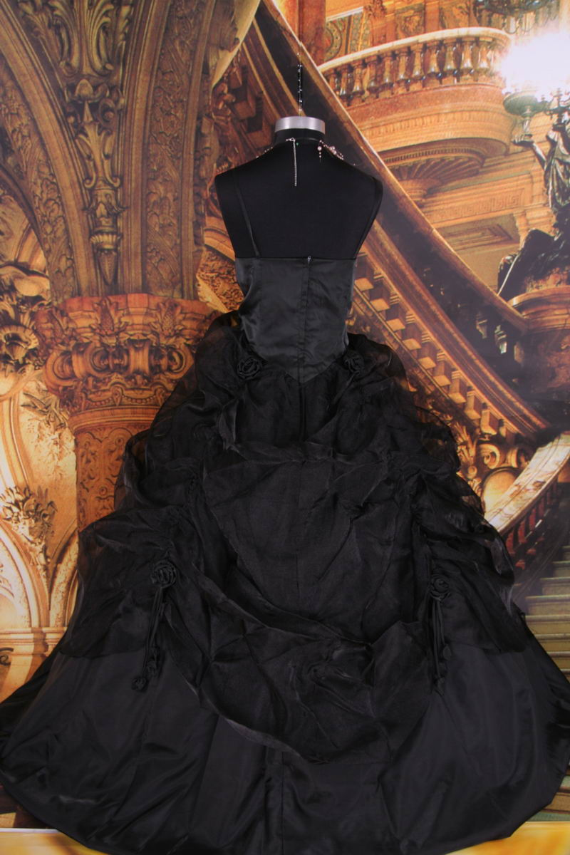 The Dream Wedding Inspirations Gothic And Black Wedding Dresses